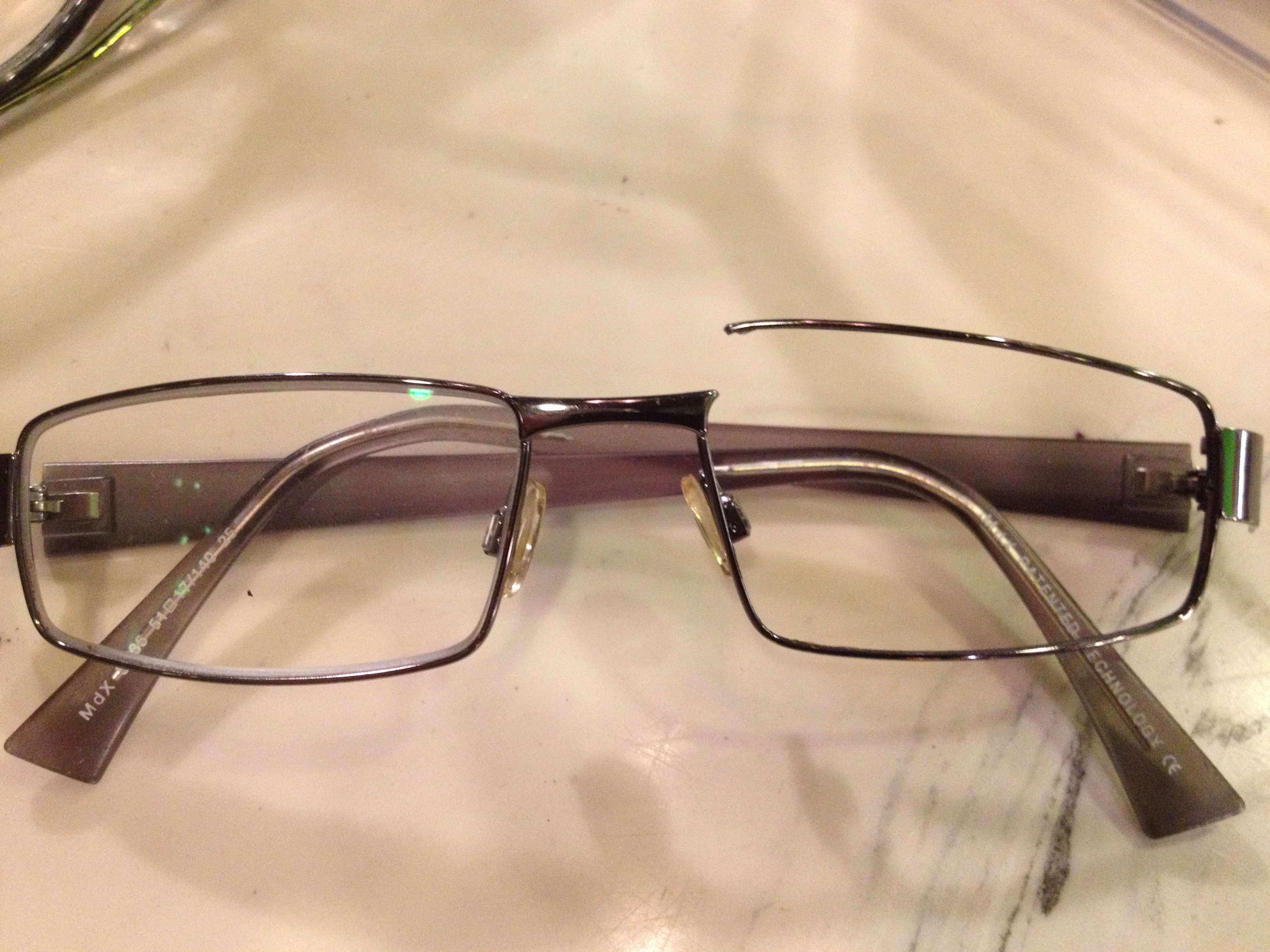 Eyeglass Frame Repair Soldering : Victoria Glasses Adjustment, Frame Repair, Screw, Nosepad ...