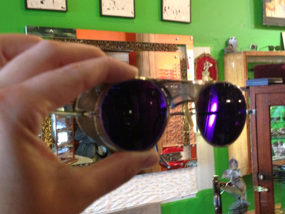 Custom tinted sunglass lenses